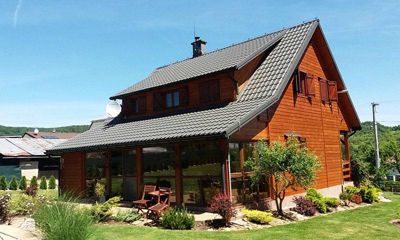 Domy drewniane całoroczne - oferta