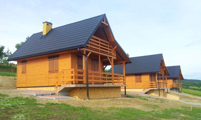 Domy drewniane letniskowe - oferta
