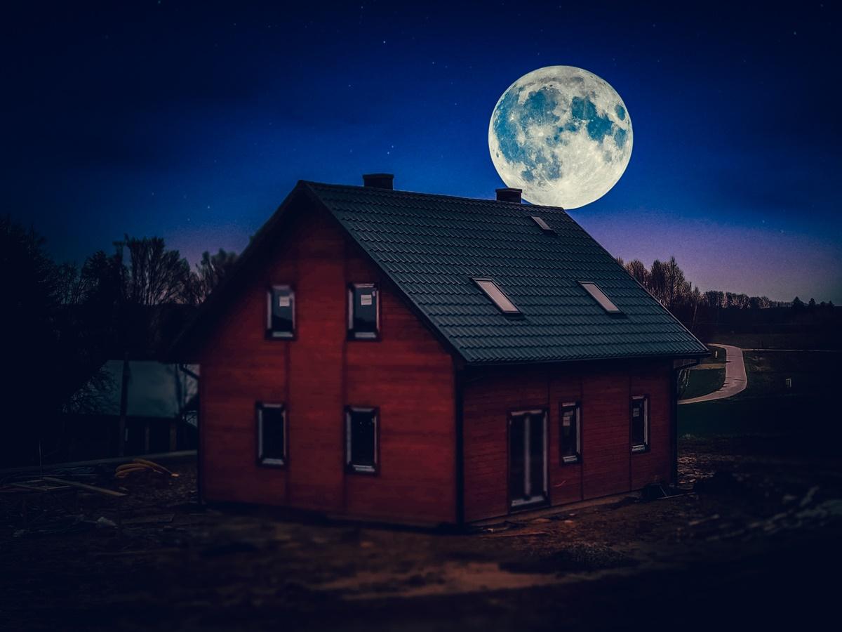 Dom drewniany całoroczny